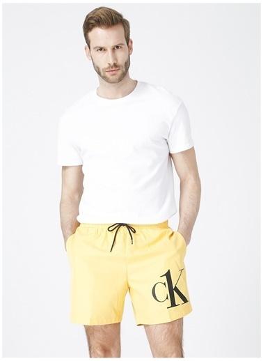 Calvin Klein Calvin Klein Şort Mayo Sarı